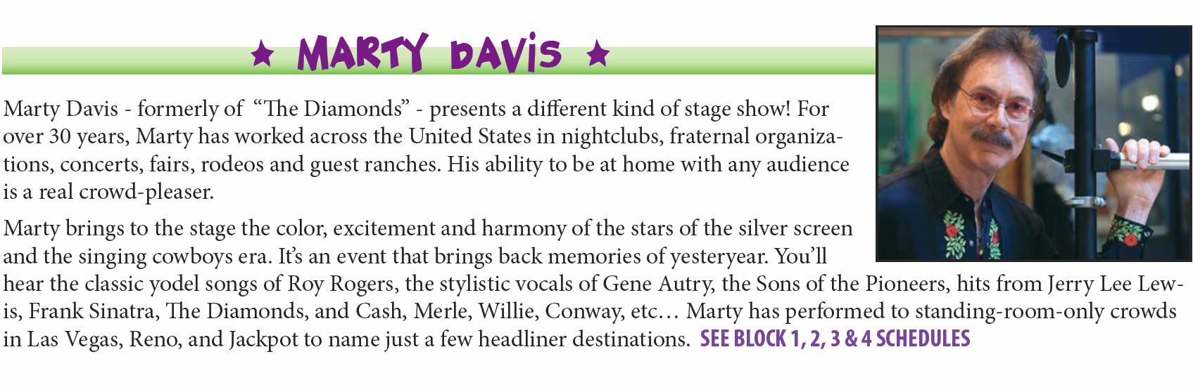 Marty Davis 2015
